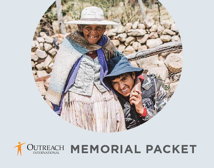 Outreach Memorial Packet