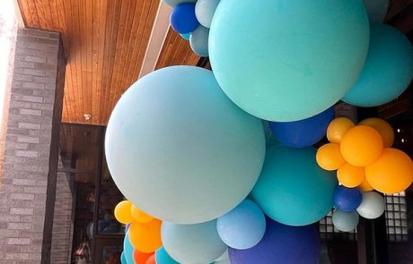 Outreach Event Space Balloons