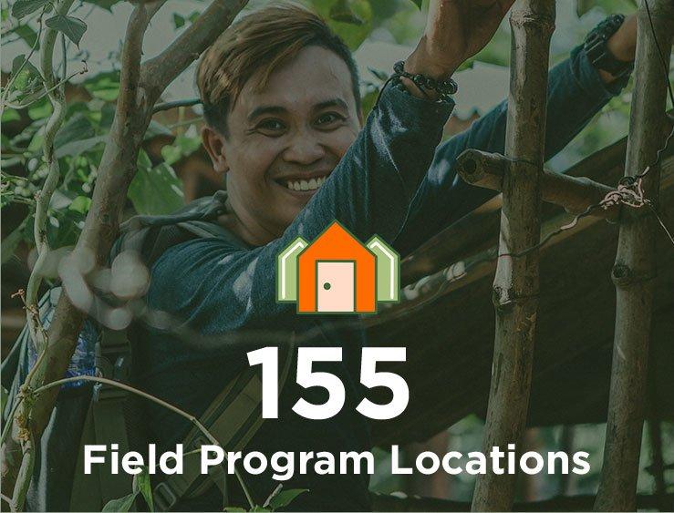 155 Field Program Locations