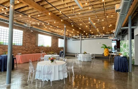Wedding receptions, corporate events, party venue, Outreach Event Space