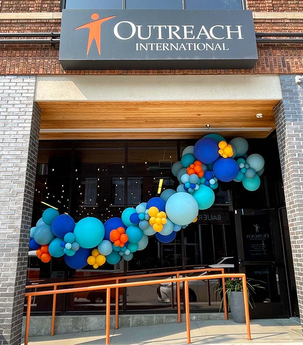 Outreach Event Space Party